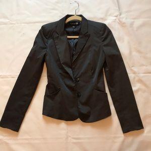Dark smooth gray Forever21 blazer
